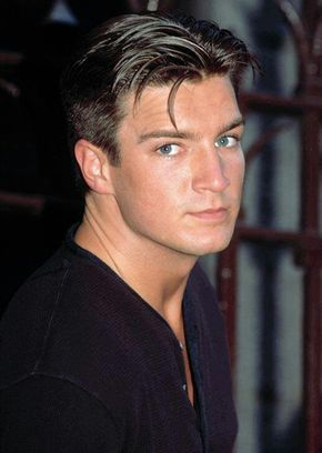 Young Nathan Fillion