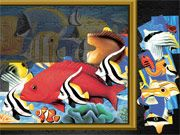 Free Online Puzzle Games, Fix the fish jigsaw puzzle by trying to put all the pieces together!  Click on each piece and see if you can find where to place it in Puzzle Mania Fishes!  Click on the puzzle piece several times to rotate it around!, #jigsaw #animal #puzzle #pieces