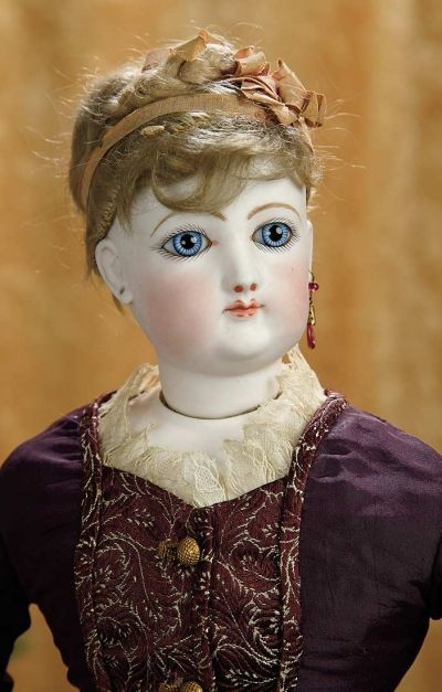 A Matter of Circumstance: 231 Beautiful French Bisque Poupee by Gaultier with Original Wig