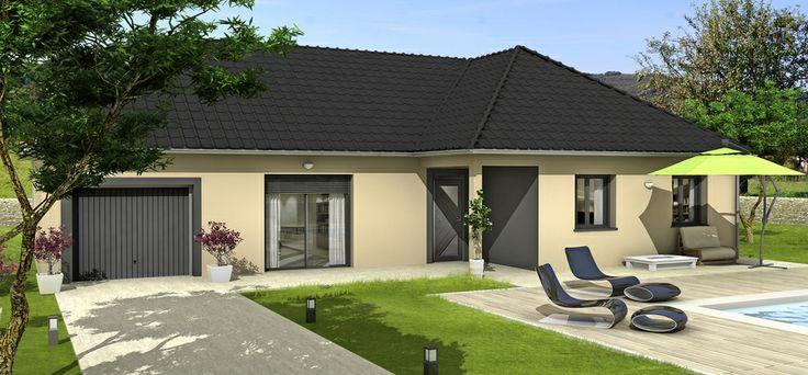 23 best villas club reims constructeur de maisons images on pinterest house blueprints. Black Bedroom Furniture Sets. Home Design Ideas