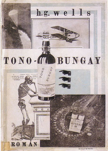 czech edition of tono-bungay with cover by jindřich štyrský & toyen