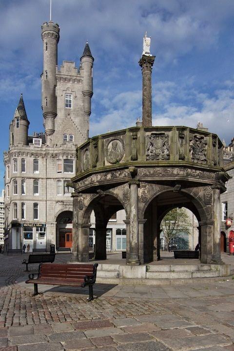 Mercat Cross - Aberdeen, Scotland