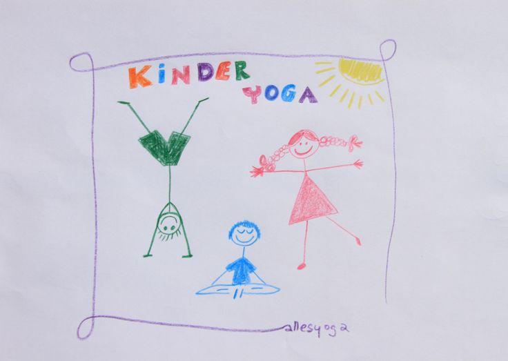 Yoga für Kinder – Kinderyoga in Leipzig bei allesyoga Kinder lieben Yoga, weil es glücklich