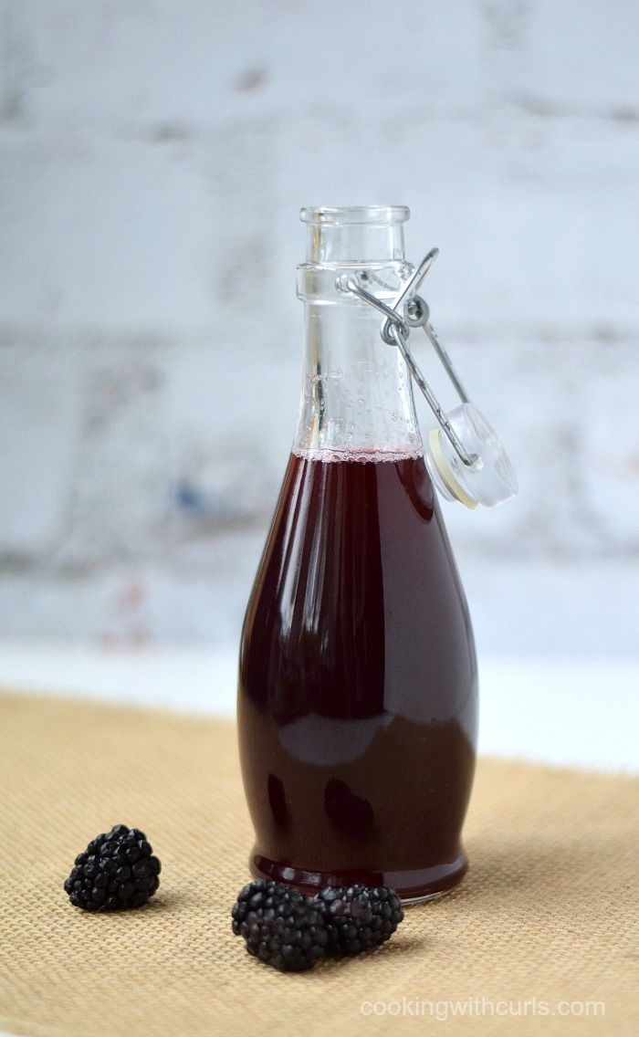 Add some blackberry flavor to your beverages with this Blackberry Simple Syrup, that is really simple to make.