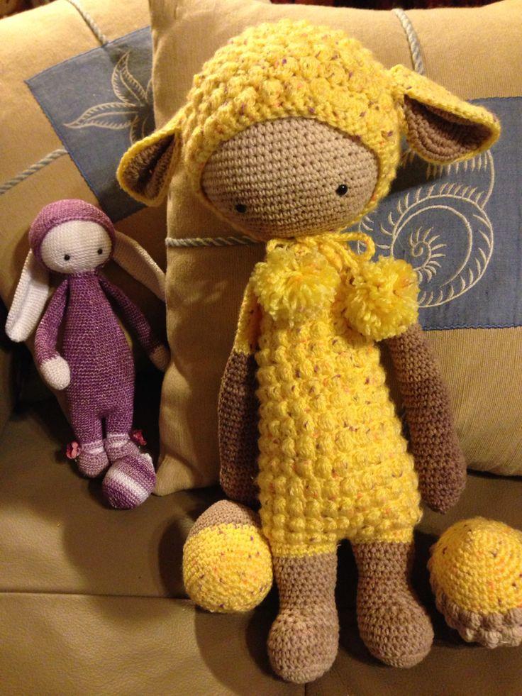 Lalylala Lupo the lamb and Rita the rabbit