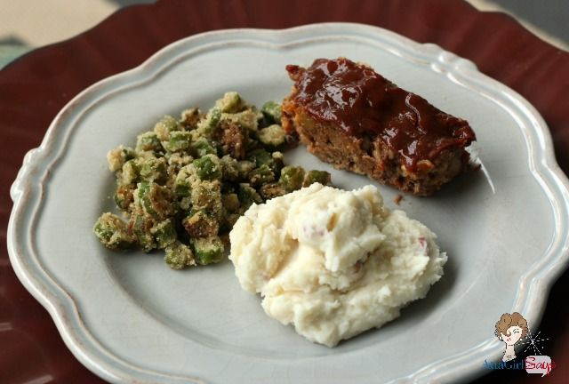 Atta Girl Says: Easy Homemade Meatloaf