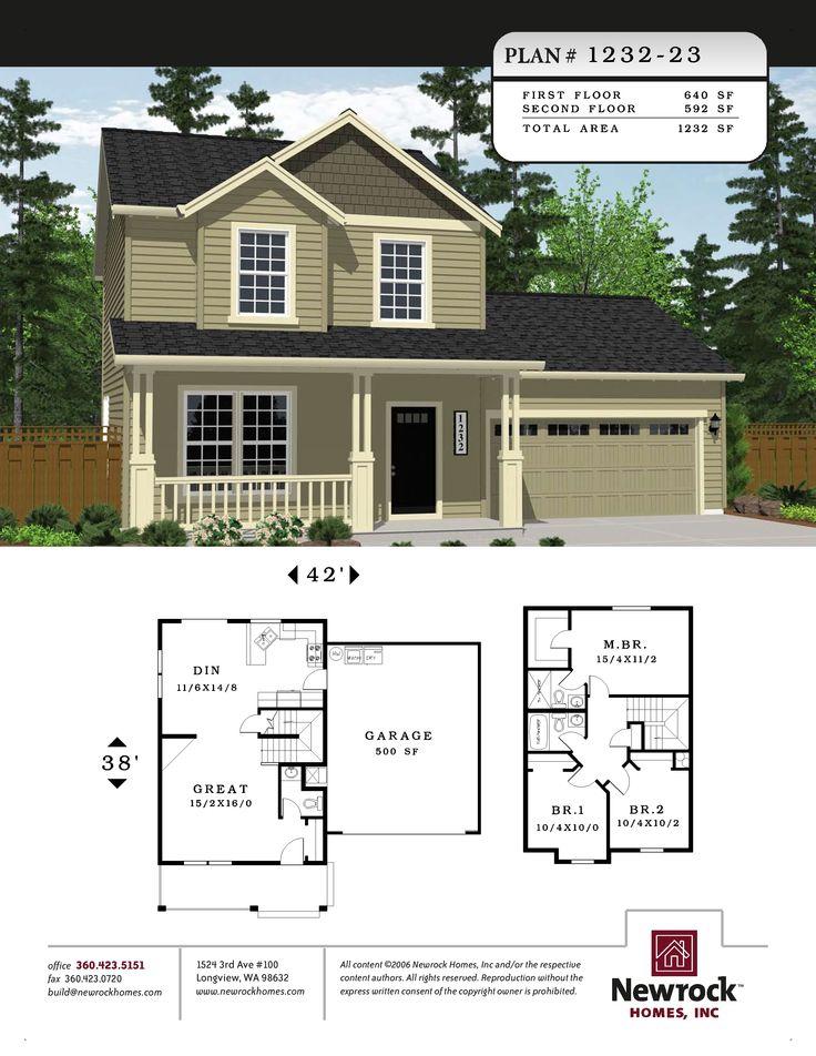 80 best spec house plans images on pinterest floor plans for Spec house plans