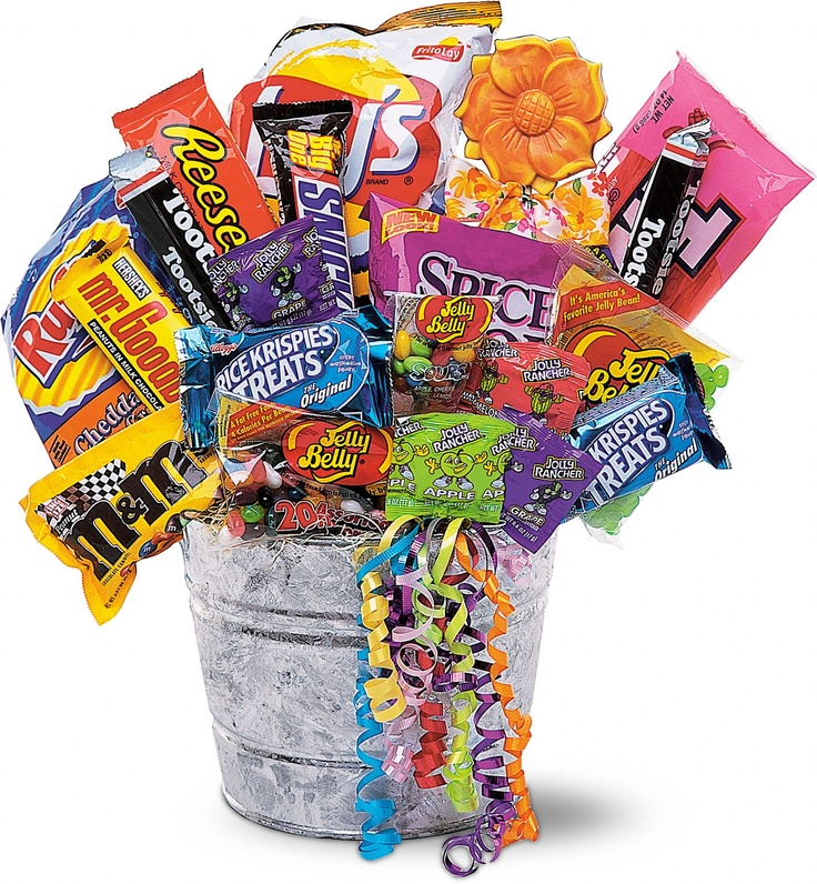 Do this instead of gift bags for parties have every kid pick one or two candies