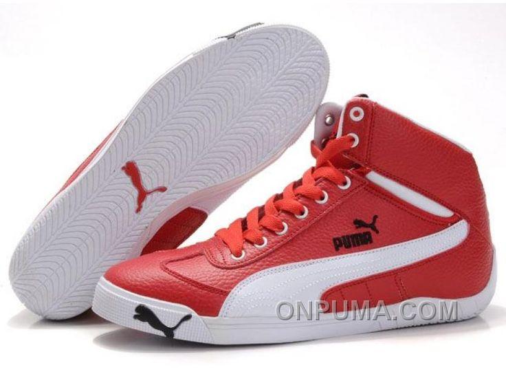 http://www.onpuma.com/womens-puma-schumacher-racing-high-tops-shoes-red-white-discount.html WOMENS PUMA SCHUMACHER RACING HIGH TOPS SHOES RED WHITE DISCOUNT : $94.00