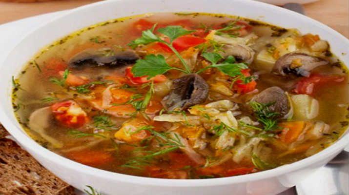 Сытный и ароматный суп грибной в мультиварке