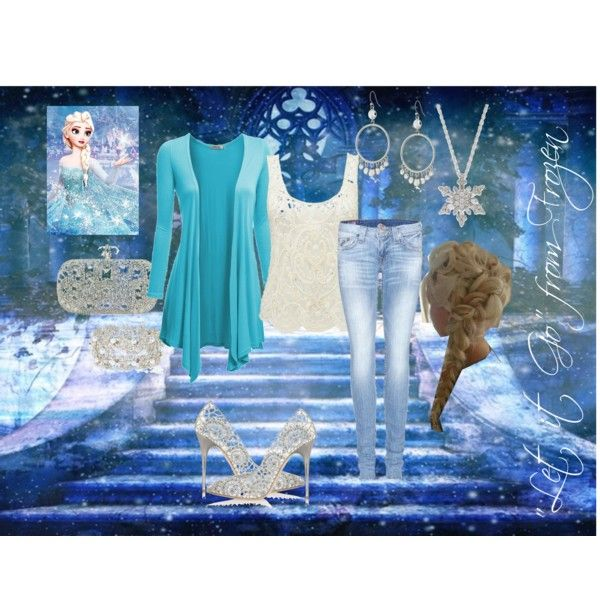 """Elsa ""Let it Go"" from Frozen-2"" by lisac18 on Polyvore"