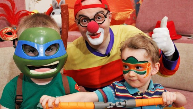 Car Clown Face Painting Game - Lucky Boy vs. Teenage Mutant Ninja Turtles!
