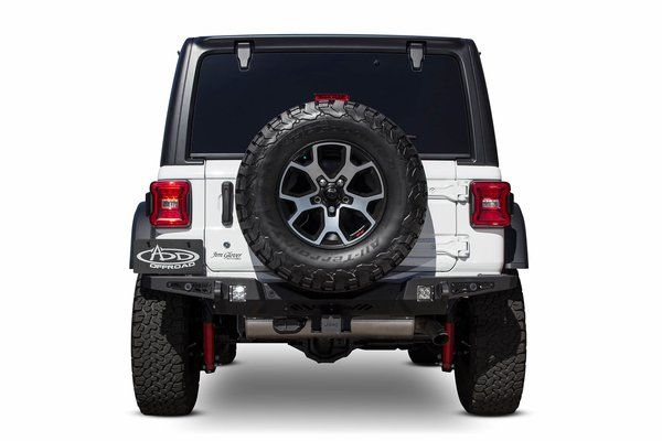 Addictive Desert 2018 Jeep Wrangler Jl Stealth Fighter Rear Bumper W Backup Sensors Desert Design Jeep Accessories Jeep Bumpers