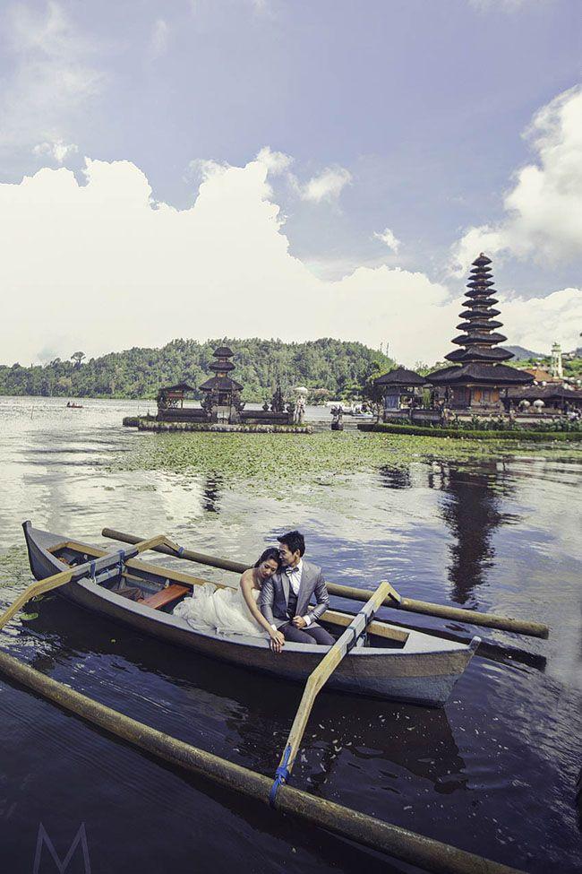 Bali pre-wedding shot