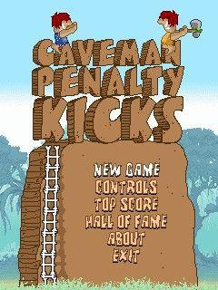 Caveman Penalty Kicks para celular - http://www.baixarjogosparacelular.co/caveman-penalty-kicks/ #JogosEsporte, #celular, #apps, #download, #Smartphone -  Fonte: http://www.baixarjogosparacelular.co - Caveman Penalty Kicks java download baixar jogos – venha jogar um emocionante jogo de futebol com ao antigos homens da cavernas. então Jogue o campeonato mundial de penalte entupimento de origem.