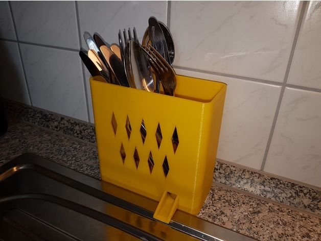 A simple Cutlery Draining Basket ... maybe someone can need it.