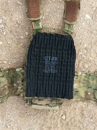 The CTAV is a lightweight air-filled device compatible with concealable and tactical body armor. The CTAV allows air to flow between body armor and torso keeping your more comfortable, cooler and drier in your armor.