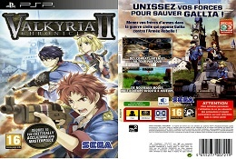 Valkyria Chronicles II RPG Video Game Cover Boxart