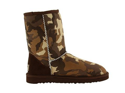 Ugg Classic Short Camo Boot 5851 Brown [A330594tb] - $99.10 #fashion #shoes #ugg boot #ugg boots #warm #women's shoes #comfortable #nice