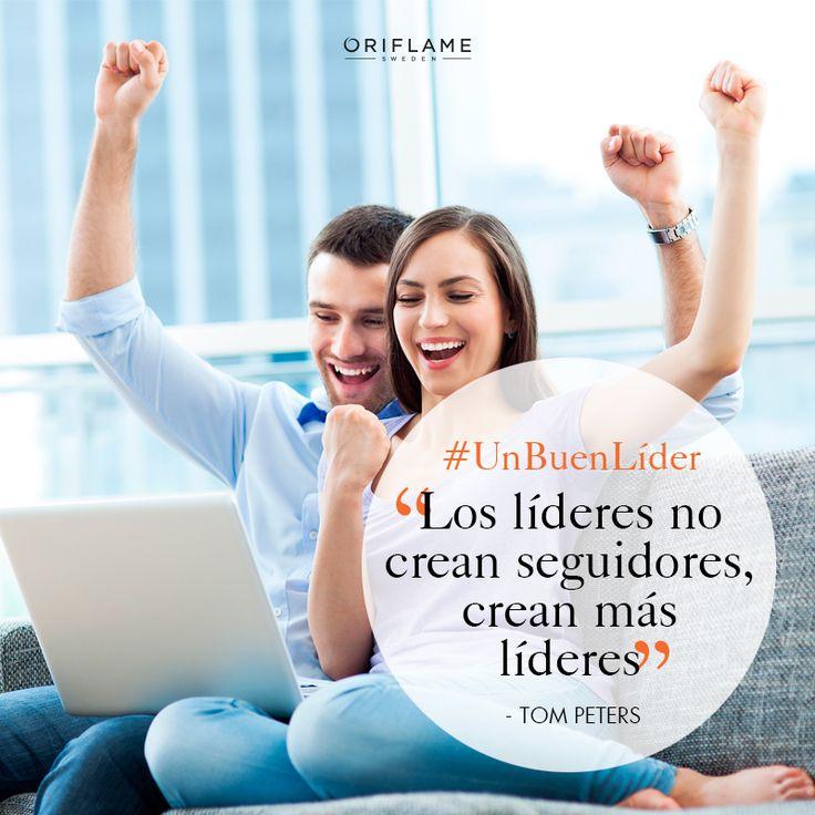y ¿tú eres un #BuenLíder? #Líder #Seguidores #Éxito #Recompensas #OriflameMx