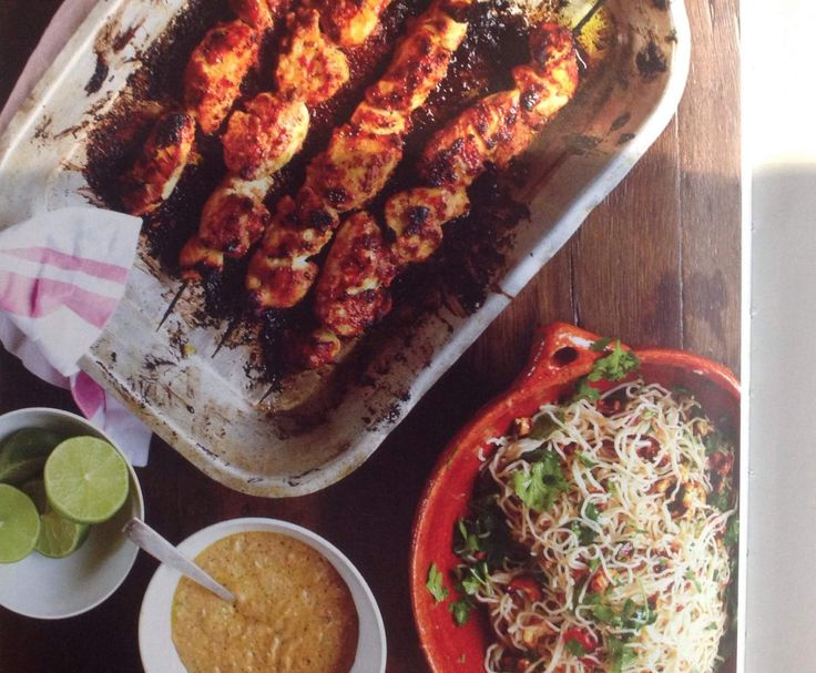 Best 25 jamie oliver indian ideas on pinterest jamie oliver recipe jamie oliver chicken skewers amazing satay sauce fiery noodle salad by iona stewart forumfinder Images