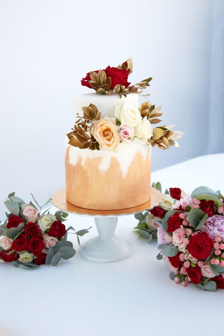 Wedding Cake, Tiers, Roses, Artist, Creativity, Beauty, Delicious, Talent, Santorini Weddings