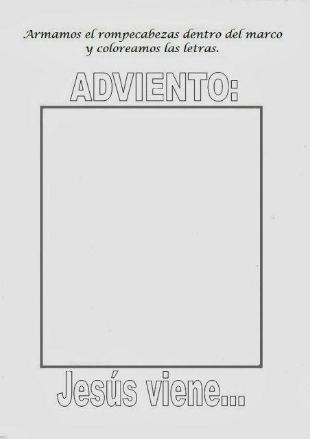 Versiculos De La Biblia De Animo: El Rincón De Las Melli: Rompecabezas: Corona De Adviento