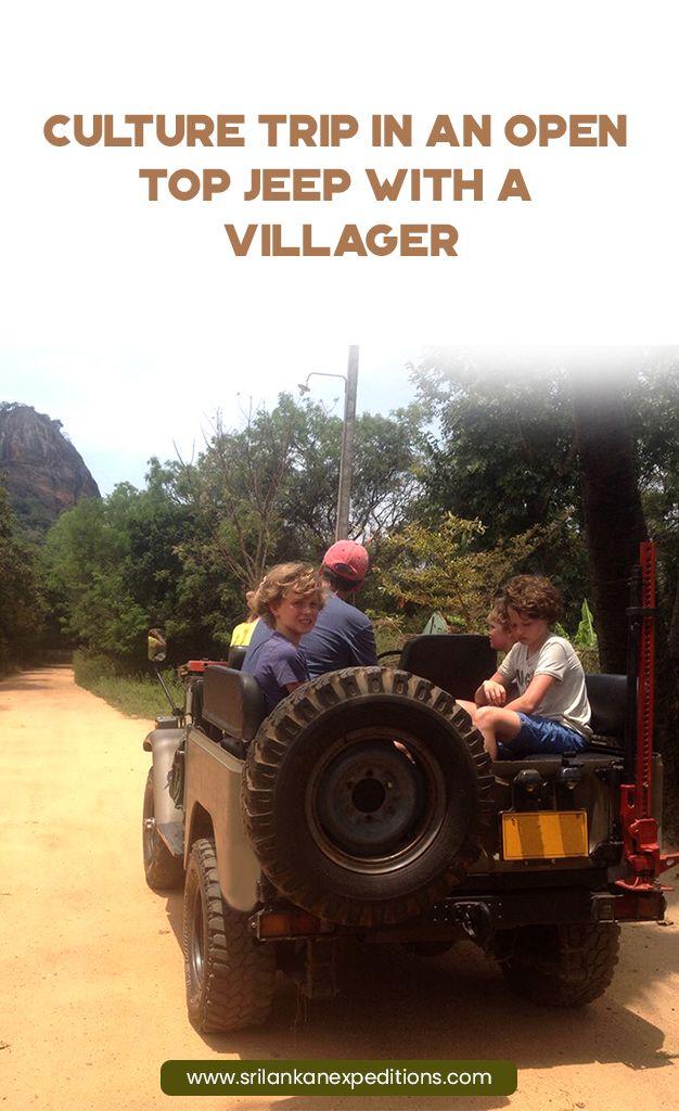Habarana Sigiriya Culture Trip By Jeep Sigiriya Culture Trip By