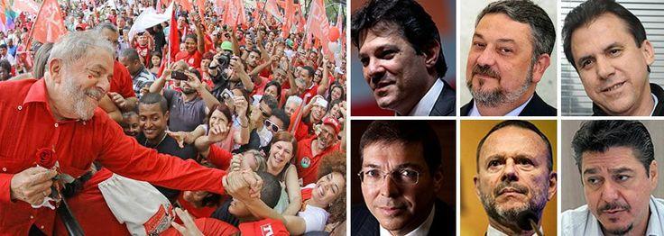 Esquerdas do Brasil, é agora, União!!!  Lula vai à luta e vamos juntos com ele, não se pode abandonar um companheiro no meio da estrada essa luta é de todos nós, esquerdistas! Lula é um homem público, notório,muito inteligente, carismático, digno, humilde e Brasileiro. Coisa rara. Obrigado Lula por ser acima de tudo ainda , um lutador. Aguardamos de braços abertos pelo seu retorno ao comando de nossa querida pátria que necessita muito de pessoas que tenham suas virtudes.  Bem vindo…
