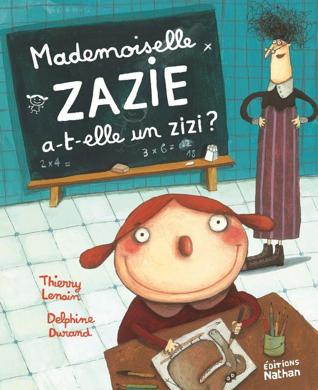 Mademoiselle Zazie, sauvetage impossible de L. Nord (d'après l'œuvre un scénario de Nicolas Digard) Nathan dans la collection Mademoiselle Zazie