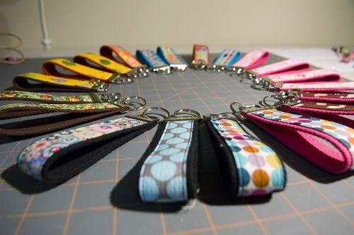 DIY Keychains (need fabric remnants)