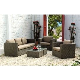 MUSTANG CHAT PATIO SET