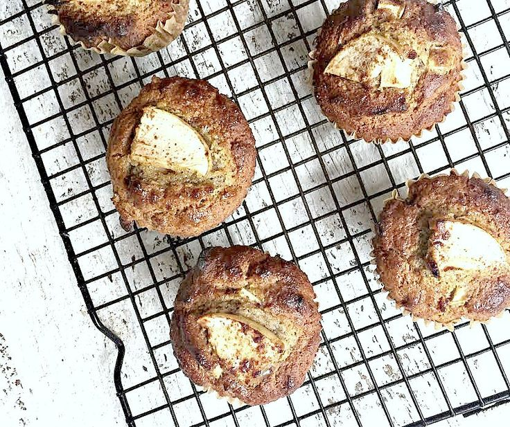 Gluten, nut and dairy free Apple Cinnamon Muffins