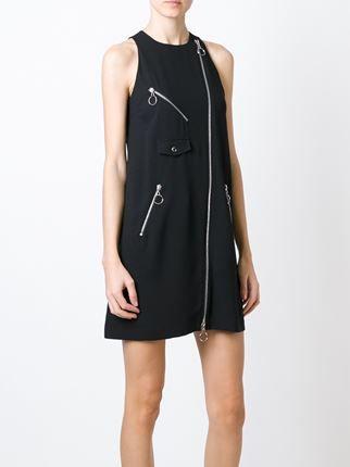 Jeremy Scott платье без рукавов с застежкой-молнией