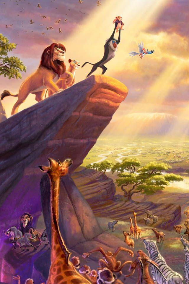 Imatge que representa una de les parts més inportants de la pel•lícula 'The lyon king'. Emitia al 1994, és una de les pel•lícules que més han marcat la història de Disney Pictures.