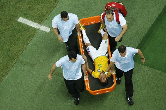Neymar's Injury Is a Crushing Disappointment in Brazil. #WorldCup2014