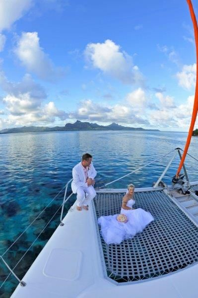 Perfect Setting For A Special Moment With Catamran Cruises Mauritius