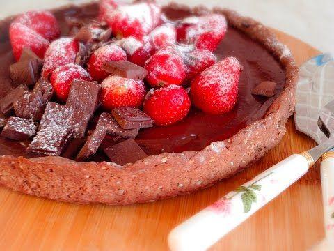 Шоколадно-карамельный тарт - YouTube