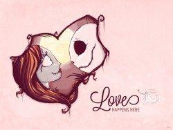 474460cc0015048d1f2c99ffc7d335b6 blog wallpaper valentines - BLOG_Valentines_Jack&Sally_WLLPPR_1024x768