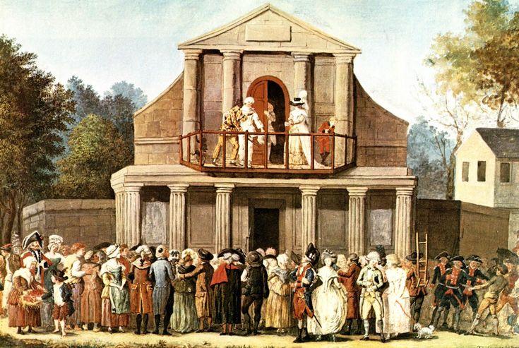 Una pagine sulle sale teatrali di Parigi, tra cui molti dei teatri in cui si recitava la commedia all'italiana.