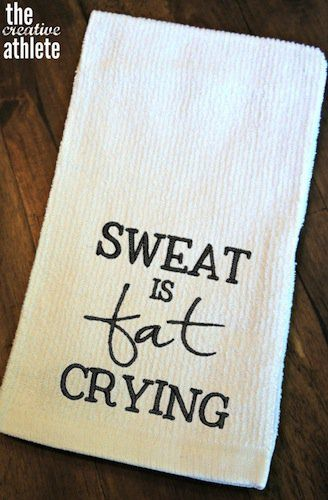 Beautiful Motivational Gym towels