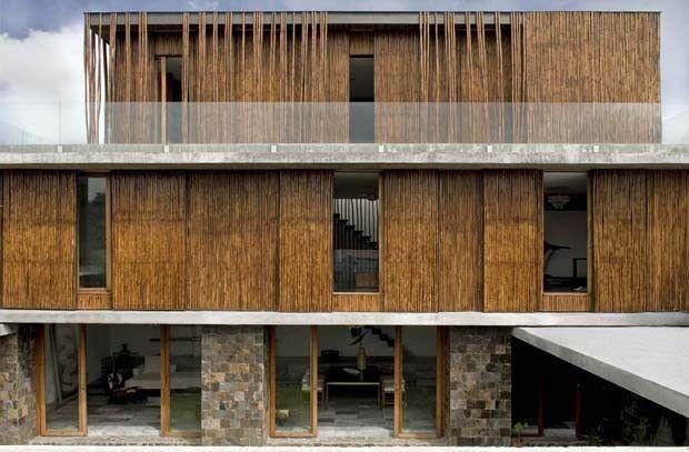Pedra e bambu dão o tom nas Filipinas