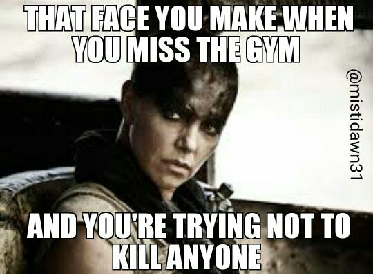 Oh yeah...Stephen has felt the wrath of me missing CrossFit more than once!