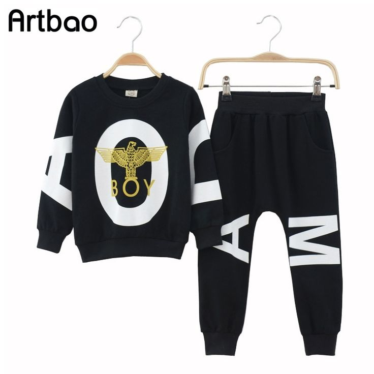 14.74$  Buy now - http://aliulu.shopchina.info/go.php?t=32278482142 - 2017 New children boys clothing sets sports tracksuits clothes for boy autumn sets 2 pcs knitting long sweatshirt+ pant trunks  #buymethat