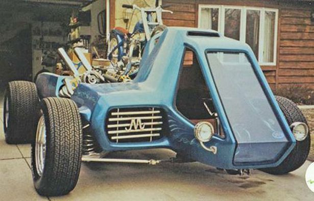 Vintage Show Rods: The Crazy Show Cars - Fosil Fueled - Fosil Fueled