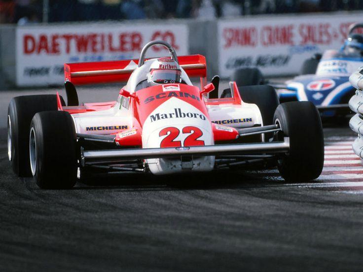 Mario Andretti Alfa Romeo Long Beach 1981