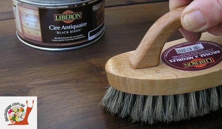 Мебельный воск Liberon и его отличие от пропиток и лака