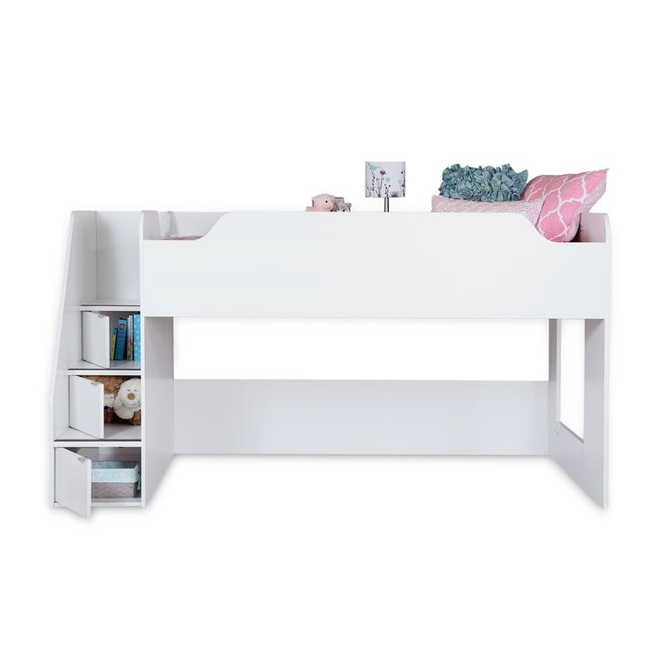 South Shore Mobby Twin Loft Bed - Overstock™ Shopping - Great Deals on South Shore Furniture Kids' Beds