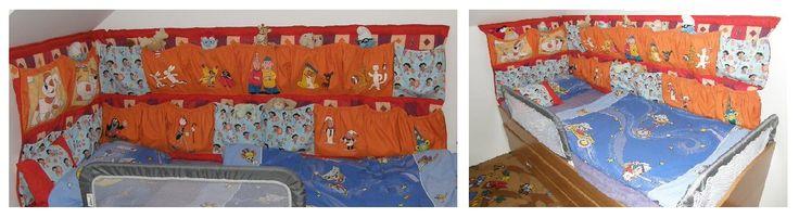Dětský kapsář u postele