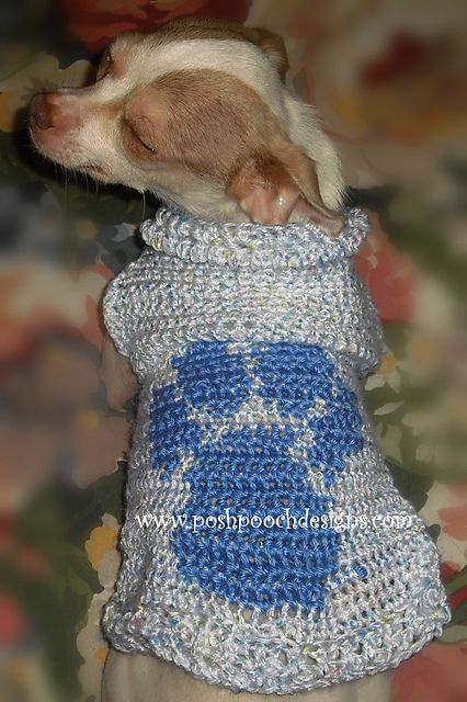 17 Best Images About Crochet For The Doggies On